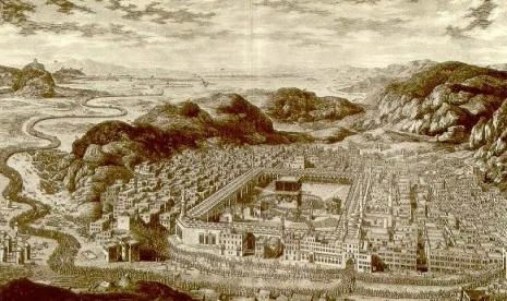 Kota Makkah di masa lampau.