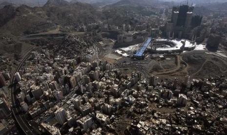 Kawasan Makkah Banjir, Satu Warga Tewas