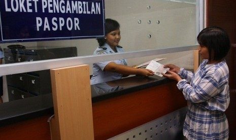 Layanan kantor Imigrasi