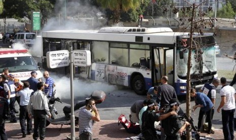 Ledakan Tel Aviv Luar Biasa
