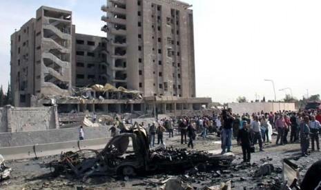 Barat Serang Suriah, Rusia dan Cina 'Pasang Badan'