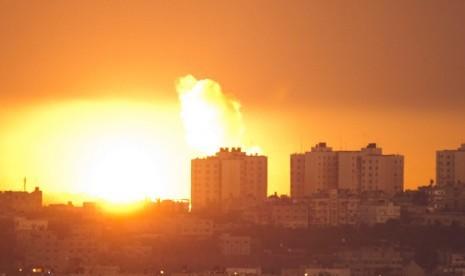 Gaza Memanas, Jet & Roket Israel Menggempur