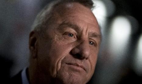 Johan Cruyff: Liga Italia Tertinggal di Eropa  Republika
