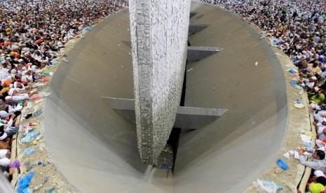 Arab Saudi Bangun Terowongan Baru di Jamarat