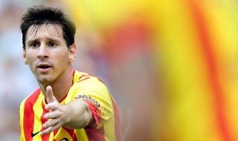 Messi: Suarez Bisa Bantu Barca Menangkan Liga Champions