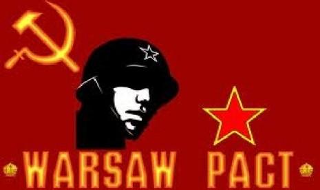 Hari ini di 1955 negara blok komunis membentuk pakta warsawa