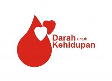 Logo Donor Darah Sukarela (DDS) PMI.