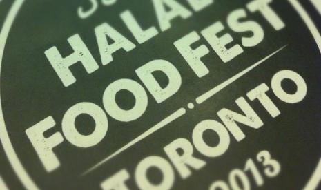 Logo of the Toronto Halal Food Festival 2013 (illustration)
