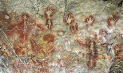 Ternyata, Lukisan Gua Sulawesi Sudah Banyak Rusak   Republika Online
