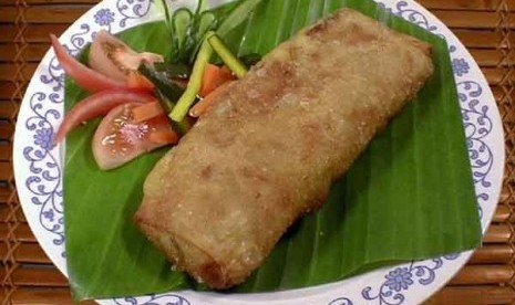 Lumpia or spring roll ia a kind of snack originated from Semarang. (ilustration)
