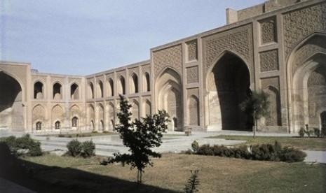 Madrasah Mustanshriyah Baghdad peninggalan Dinasti Abbasiyah