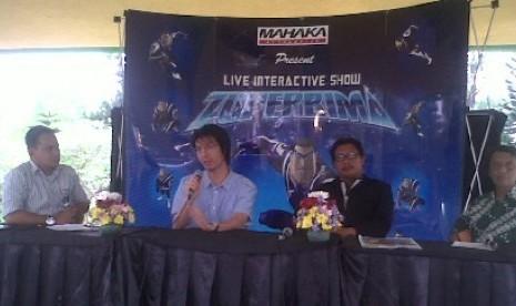 Mahaka Attraction meluncurkan show interaktif dengan tokoh Zuper Bima
