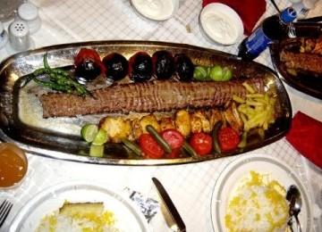 Kebab isi daging. Ilustrasi.