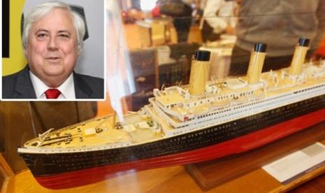 Dibangun, Kapal Titanic II Berlayar 2016