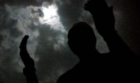 Malam Lailatul Qadar (Ilustrasi).