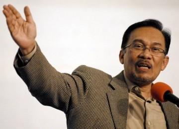 Mantan Deputi Perdana Menteri Malaysia Anwar Ibrahim.