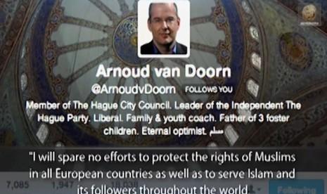 Mantan politikus Anti-Islam, Arnoud Van Doorn