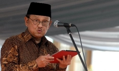 Mantan Presiden, BJ Habibie.