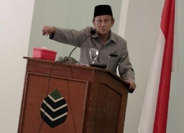 Mantan Presiden RI, BJ Habibie