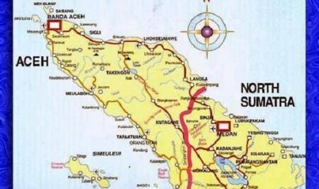 Peta Aceh