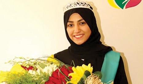 Maram Zaki al-Saif, pemenang kontes kecantikan Arab Saudi