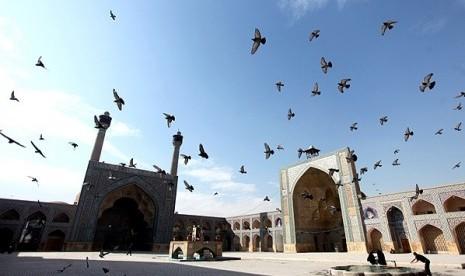 Masjid Agung Isfahan, Iran.