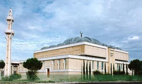 Masjid Agung Roma, Italia.