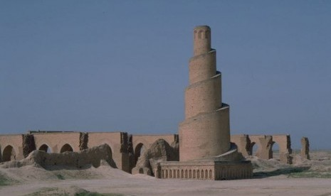 Masjid Agung Samarra, Irak.