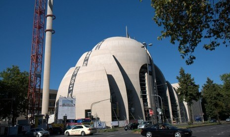 Masjid Cologne Jerman.