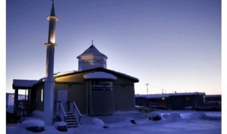 Subhanallah, Masjid di Kutub Utara Bakal Difilmkan