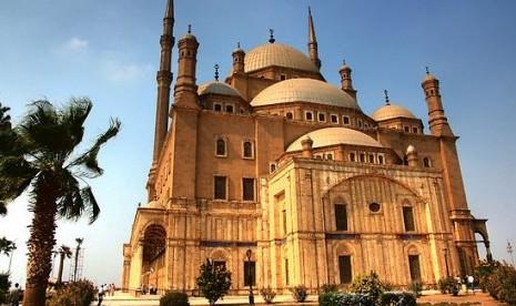 Masjid Muhammad Ali Pasha di Kairo, Mesir.