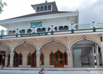Masjid Nurul Huda Gelgel in Klungkung, the oldest mosque in Bali (photo files).