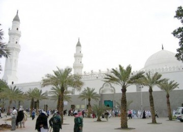 Masjid Quba, ilustrasi