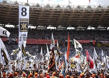 Massa PKS saat kampanye