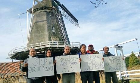 Masyarakat Indonesia di Belanda Dukung Aksi Damai 313
