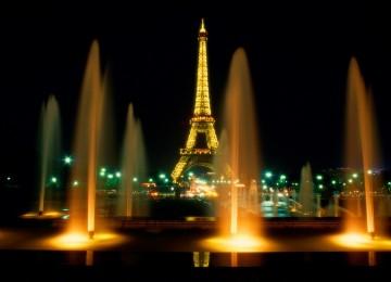 Menara Eiffel, ilustrasi