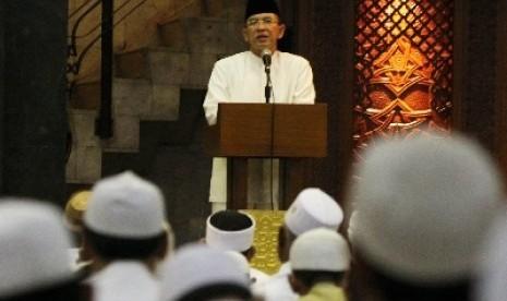Menteri Agama Suryadharma Ali.