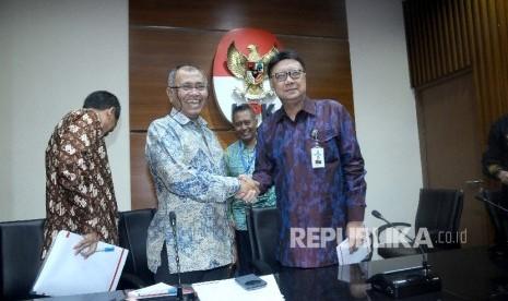 In Picture: Gelar Pertemuan Tertutup dengan KPK, Tjahjo Bahas Pengawasan Internal Pemda