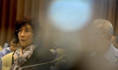 Menteri Kelautan dan Perikanan (KKP) Susi Pudjiastuti.