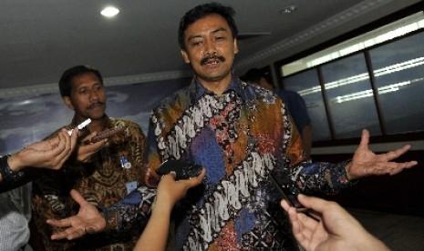 Menteri Pemuda dan Olahraga (Menpora) Andi Mallarangeng.