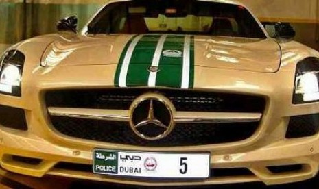Kini, Polisi Dubai Pilih Mercedes dan Bentley