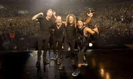Foto Konser Metallica di Jakarta