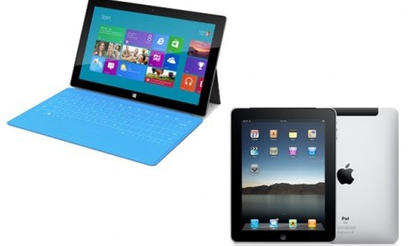 Microsoft Surface vs iPad Apple