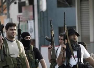 Milisi Hizbullah di Lebanon.