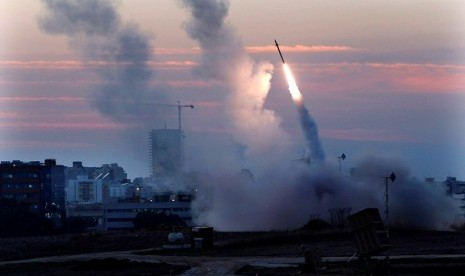 'Kubah Besi' Israel Gagal Hadang Roket Palestina