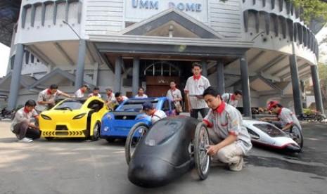 Tiga Mobil Hemat Energi UMM Ikut Kompetisi IEMC | Republika Online