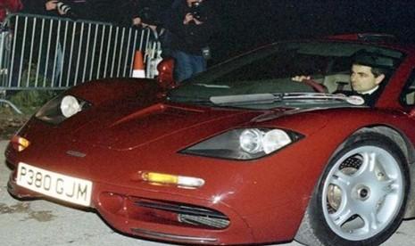 Mobil McLaren milik Rowan 'Mr Bean' Atkinson
