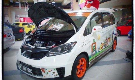 Inilah Mobil Best Cartoon Character Di Bandung Car Modification