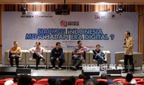 In Picture: 'Rembuk Republik' Membahas Kesiapan Indonesia Hadapi Era Digital
