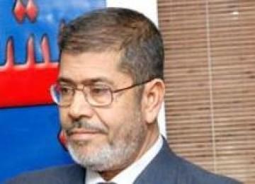 Mohamed Morsi, Ketua Partai Kebebasan dan Keadilan bentukan Ikhwanul Muslimin.